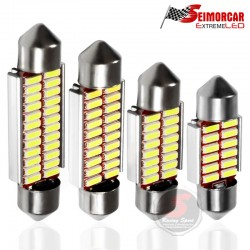 Festoon 31mm Canbus Blanca 12v